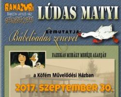 Gyermekszínház- Lúdas Matyi bábelőadás