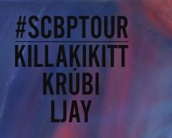 SCBP TOUR - Székesfehérvár, Nyolcas Műhely - 1101 - Killakikitt, Krúbi, Ljay