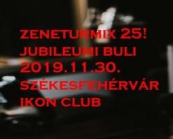 Zeneturmix 25!