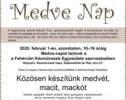 Medve nap a Fehérvári Kézművesek házában – Családi program Székesfehérváron