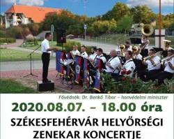 Székesfehérvár Helyőrségi Zenekar koncertje