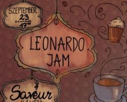 A Leonardo Jam koncertje a Saveur Kávézóban