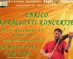 Enrico Karácsonyi koncertje