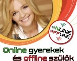 Online gyerekek és offline szülők