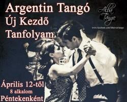 Új Kezdő Argentin Tangó Tanfolyam
