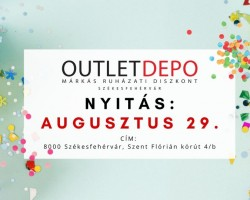 Outlet DEPO nyitónap