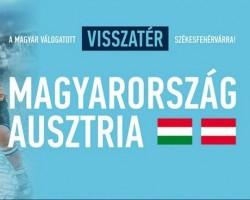 Magyarország - Ausztria felkészülési mérkőzés