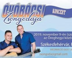 Óvóbácsi Zsongodája koncert Székesfehérváron!
