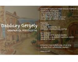 Dabóczy Gergely - GRAFIKÁTÓL FESTÉSZETIG című kiállítás megnyitója