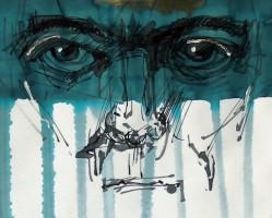 Az ember - Rajzok az Ótestamentumból // Pinke Miklós kiállítása