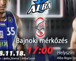 Alba Fehérvár - Szolnoki Olaj KK
