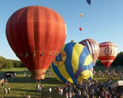 Hőlégballon Karnevál