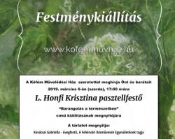 L. Honfi Krisztina kiállítása