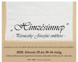 """""""Hímzésünnep"""" - Fehérvári Kézművesek Egyesülete házában"""