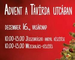 Advent a Távirda utcában