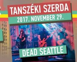 Tanszéki szerda: Dead Seattle (Nirvana tribute) koncert