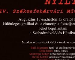 Nyílt Nap: IV. Székesfehérvári Művésztelep