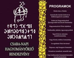 Csaba napi hagyományőrző rendezvény