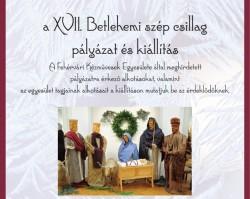 XVII. Betlehemi szép csillag kiállítás