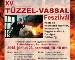 XV. TŰZZEL-VASSAL FESZTIVÁL