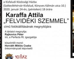 Felvidéki szemmel – Karaffa Attila fotókiállítás megnyitó
