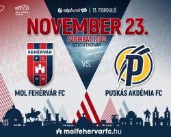MOL Fehérvár FC - Puskás Akadémia FC