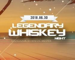 Legendary Whiskey Night