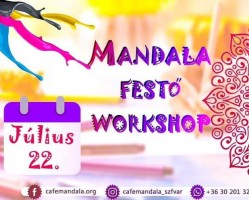 Mandala festő workshop