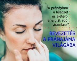 Meditációs jóga - fókuszban a légzés (pránajáma)