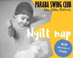 Paraba Swing Club - Nyílt nap, Bemutató