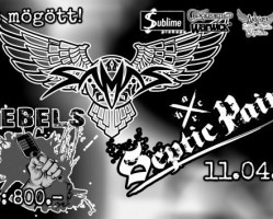 Metal Fiesta 2017 / Samas, Septic Pain, Manimal Inc., Rebels