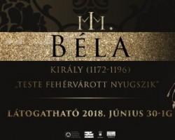 Tárlatvezetés a III. Béla király (1172-1196).