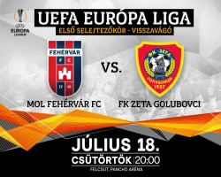 MOL Fehérvár FC - FK Zeta Golubovci