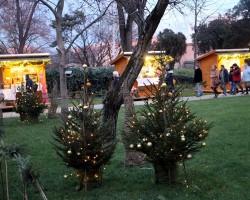 Fehérvári Kézművesek az Adventi Udvarban,a Püspöki Palota kertjében