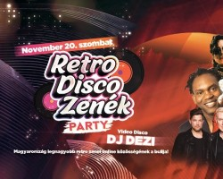 Retro Disco Zenék Party