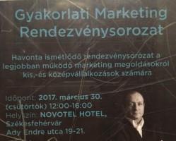 Gyakorlati Marketing Rendezvénysorozat