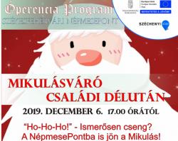 Mikulásváró Program a Székesfehérvári Népmeseponton