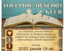 Tollpihe Meseíró Klub a Gárdonyi Géza Művelődési Ház és Könyvtárban