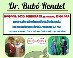 Gyermekszínház- Dr. Bubó rendel