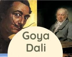 Goya - Dali