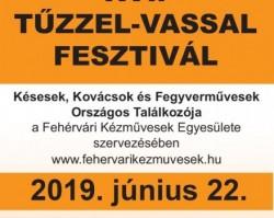 XVI. Tűzzel-Vassal Fesztivál 2019.