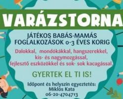Varázstorna - Baba-mama foglalkozás