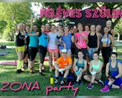 Féléves szülinapi ZONA Party