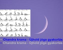 Chandra krama - újhold jóga gyakorlás
