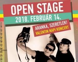 Aranka, Szeretlek! | Valentin-napi Open Stage koncert