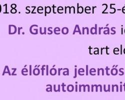 dr. Guseo András előadása