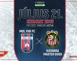 MOL Vidi FC - Kisvárda Master Good