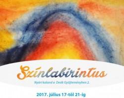 Színlabirintus – nyári kaland a Deák Gyűjteményben és a Hetedhét Játékmúzeumban