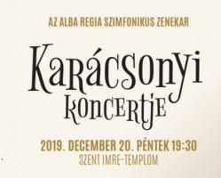 Az Alba Regia Szimfonikus Zenekar karácsonyi koncertje