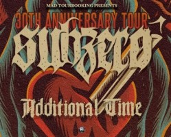Subzero /USA/ - 30th Anniversary Tour + Additional Time /GER/ + support